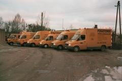 Pojazdami pomocniczymi do robót zewnetrznych