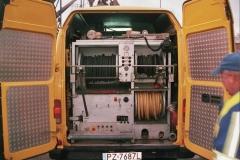 Pojazdem WUKO do cisnieniowego czyszczenia kanalizacji wraz z systemem wizyjnej inspekcji kanalizacji